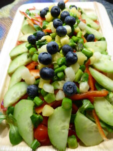 Eksempel på 'dagens salat'