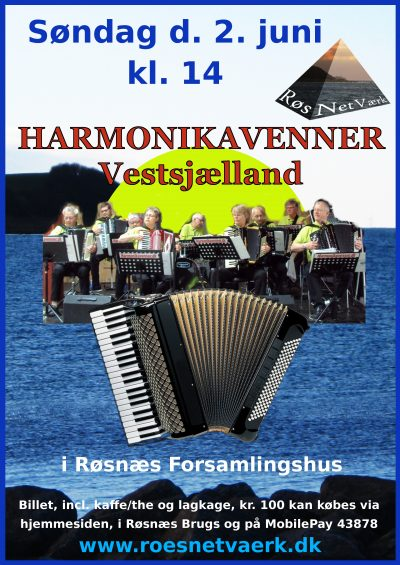 Harmonikavenner plakat